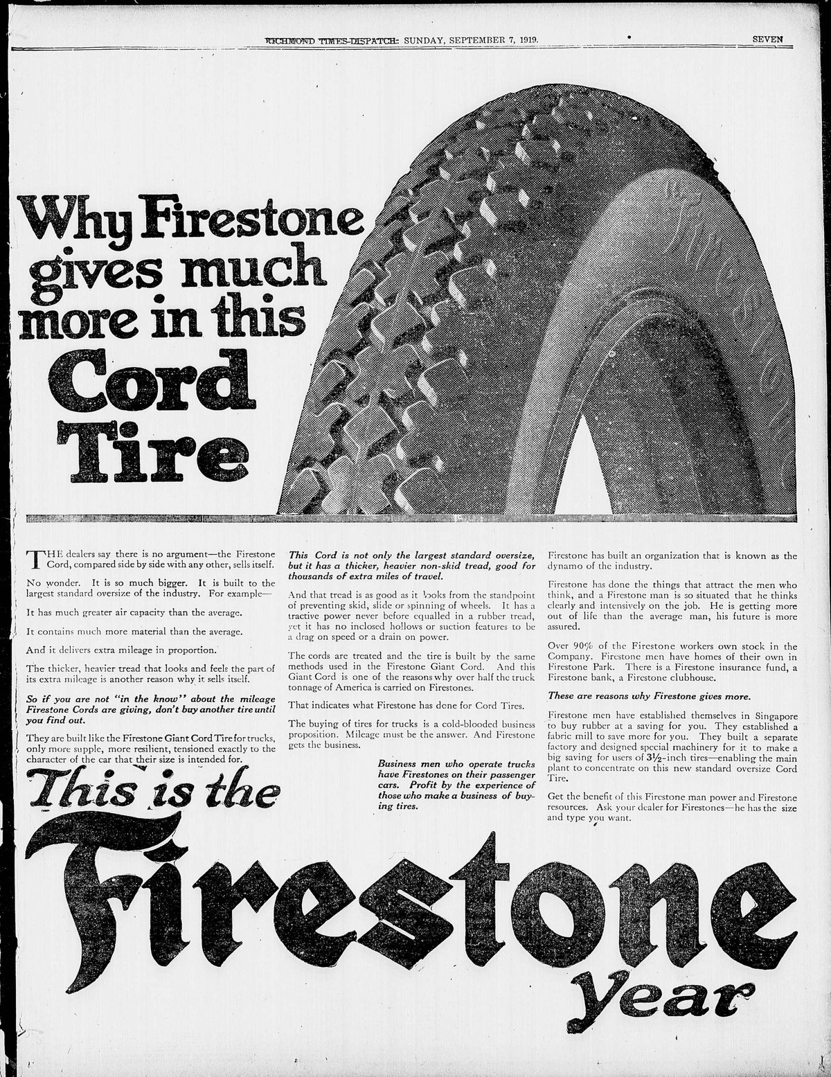 Firestone Tire and Rubber Company — Wikipédia