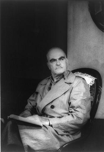 Portrait of Thornton Wilder, as Mr. Antrobus i...