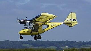 Thruster T600 Sprint British ultralight aircraft
