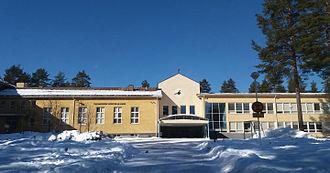 Tikkakoski - Image: Tikkakosken yläaste ja lukio