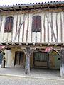 Tillac - Maisons à colombages de la rue principale - côté nord -2.JPG