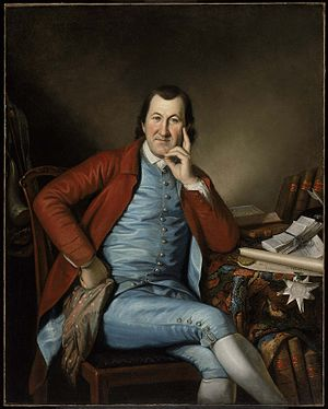 Timothy Matlack - Timothy Matlack by Charles Willson Peale, 1790: Museum of Fine Arts, Boston