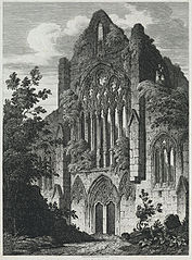 Tintern Abbey, Monmouthshire, West Front