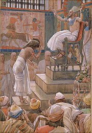 Tissot Joseph and His Brethren Welcomed by Pharaoh