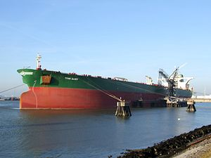 Titan Glory IMO 9205079 at the '8e Petroleumhaven', Port of Rotterdam, Holland 15-Dec-2007.jpg