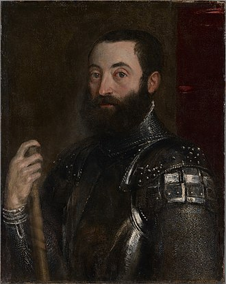 Della Rovere - Image: Titian (Tiziano Vecellio) Portrait of Guidobaldo II della Rovere, Duke of Urbino 1956.7.1 Yale University Art Gallery