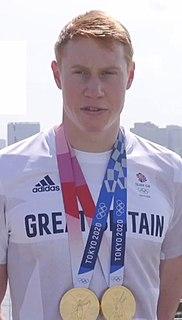 Tom Dean (swimmer) British swimmer
