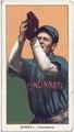 Tom Downey, Cincinnati Reds, baseball card portrait LCCN2008676452.tif