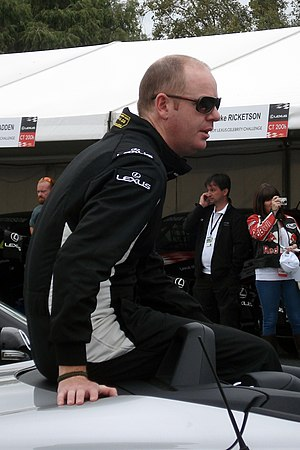 Tom Gleeson - Gleeson at the 2011 Australian Grand Prix.