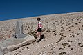 Tom Simpson memorial, Mont Ventoux, 20 September 2011.jpg