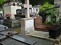Tombe de Pierre-Victor GALLAND et de son fils Jacques GALLAND - Cimetière Montmartre.JPG