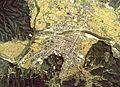Tono city center area Aerial photograph.1977.jpg