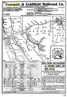 Tonopah and Goldfield Railroad