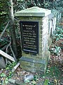 Tony Hancock 's Memorial Plaque - geograph.org.uk - 610119.jpg