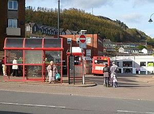 Neath bus station toilets