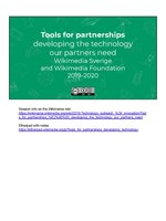 Tools for partnerships – developing the technology our partners need - Wikimania 2019.pdf