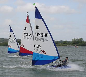 Topper (dinghy) - Toppers at Stewartby Open 2005