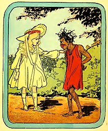 Little Eva and Topsy by John R. Neill, 1908