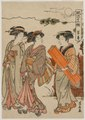 Torii Kiyonaga - The Eighth Month (from the series Fashionable Presentations of the Twelve M - 1921.1279 - Cleveland Museum of Art.tif