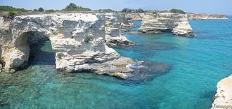 Tourism in Italy - Torre Sant'Andrea, Salento