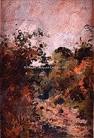 Toulouse-Lautrec - CELEYRAN, CHEMIN DANS LE BOIS, 1880, MTL.39.jpg