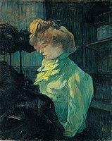Toulouse-Lautrec - LA MODISTE ( MADEMOISELLE LOUISE BLOUET D'ENGUIN ), 1900, MTL.212.jpg