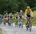Tour de France 2015, groep gele trui (20036329866).jpg