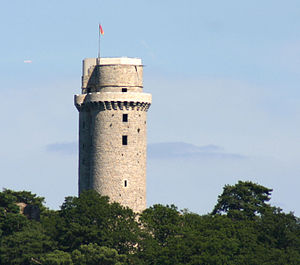 Battle of Montlhéry - The tower of the castle of Montlhéry