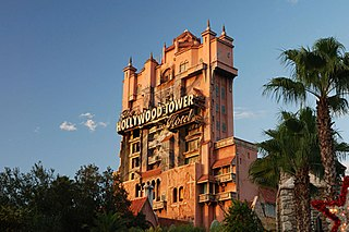 an accelerated drop tower thrill ride located at Disney