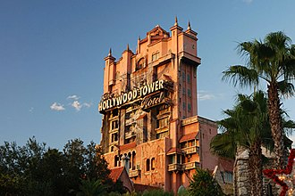 Disney's Hollywood Studios - The Twilight Zone Tower of Terror opened in 1994, as part of the park's first expansion.