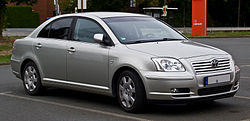 Toyota Avensis Stufenheck (2003?2006)