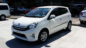 Daihatsu Ayla - Image: Toyota Wigo G Left Quarter