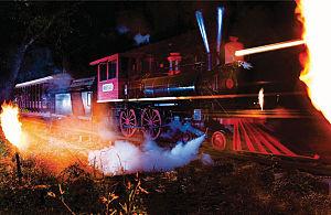 Six Gun Territory - Image: Trainflames