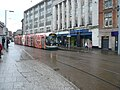 Tram about to depart for Hucknall - geograph.org.uk - 642276.jpg