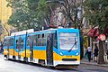 Tram in Sofia mear Macedonia place 2012 PD 030.jpg