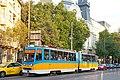 Tram in Sofia near Macedonia place 2012 PD 083.jpg