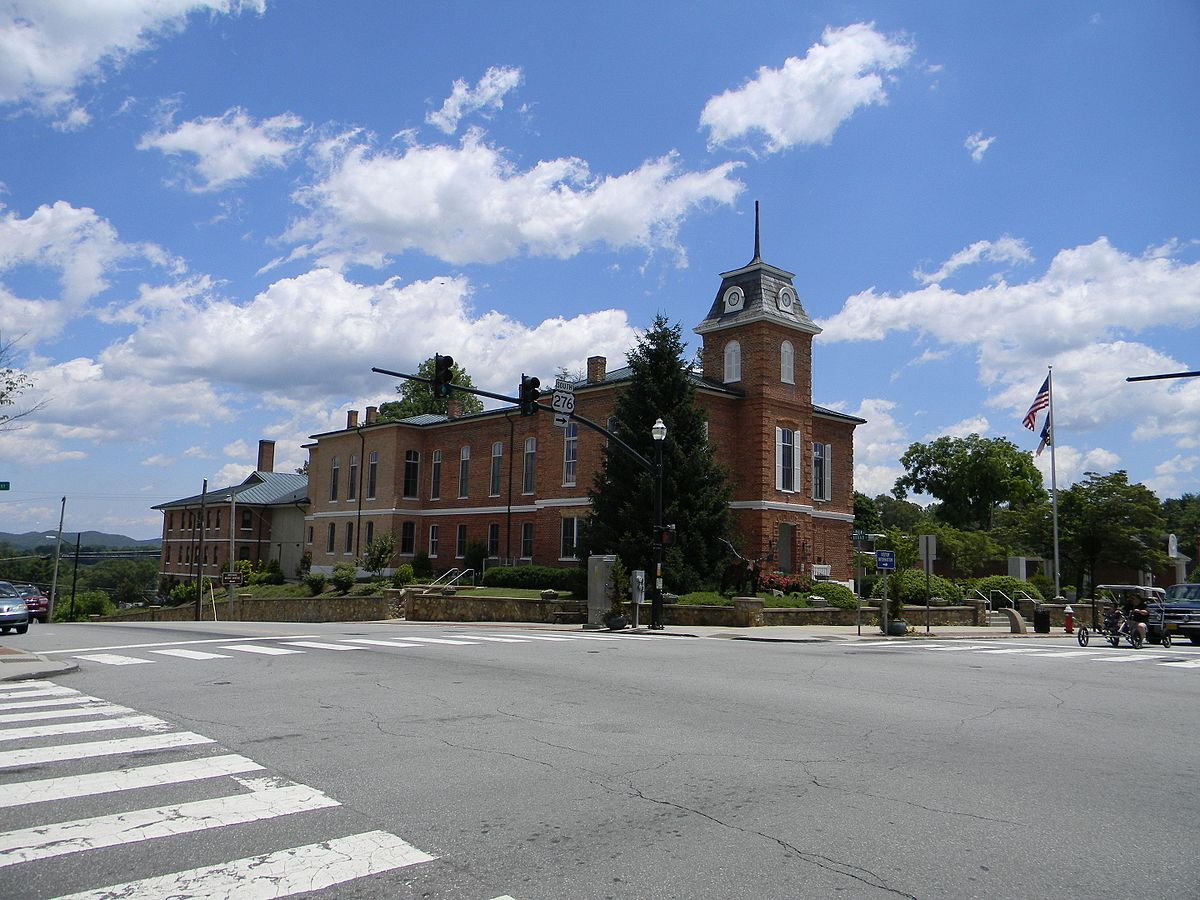 main street historic district  brevard  north carolina