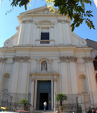 Teresa Sampsonia - Santa Maria della Scala in the Trastevere rione of Rome, where Teresa remained for the rest of her life