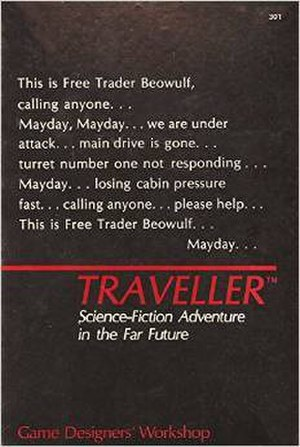 Traveller (role-playing game) - Image: Traveller rpg