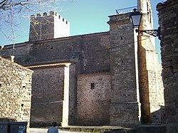 Trebago Soria Iglesia de la Asunción y Torreon.JPG