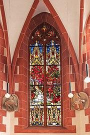 Treis, ehem. Pfarrkirche - Fenster Katharina (2020-09-20 Sp d).jpg
