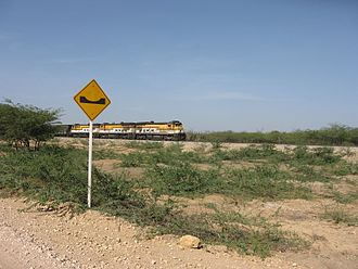 Cerrejón - Coal train