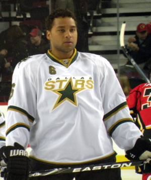 John Vanbiesbrouck - Trevor Daley, shown here with the Dallas Stars