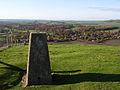 Trig point, the Devil's Grave - geograph.org.uk - 282682.jpg