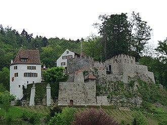Trostburg Castle - Image: Trostburg in Teufenthal