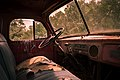 Truck Cab Interior, Antelope Island (7454588458).jpg