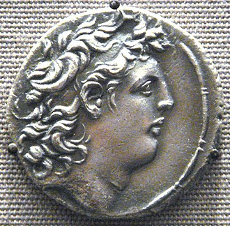 Diodotus Tryphon - Coin of Diodotus Tryphon. British Museum.