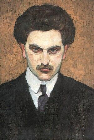 Mikhail Tsetlin - 1910s portrait (unknown author)