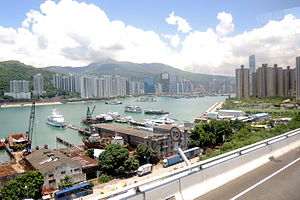 Tsing Yi North Coastal Road (Hong Kong).jpg