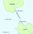 Tsugaru Strait with Kaikyo Line and stations.png